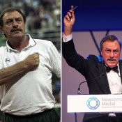 John Newcombe, after whom the award ceremony's highest award, the Newcombe Medal, is named; Getty Images