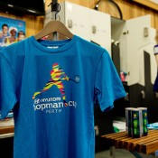 Hopman Cup merchandise backstage at the Perth Arena during its Open Day; Tennis Australia