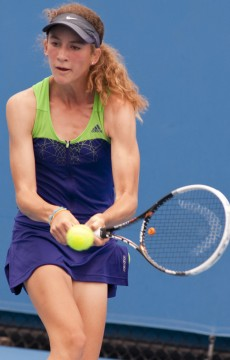12th of December 2011. Optus 12s Australian Championships. Mae Dumrigue