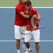 20-year-old Ryan Harrison (L) has successfully established himself on the ATP Tour, while 18-year-old brother Christian is currently forging his way up the ladder at ITF Futures events. The pair combined at the 2012 US Open and enjoyed a stunning run to the doubles quarterfinals in front of rapturous home fans; Getty Images