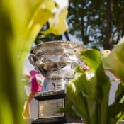The Norman Brookes Challenge Cup at the Salamanca Markets in Hobart; Tennis Australia