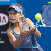 Daniela Kovacevic is moving ahead into the final rounds of the Optus 12s event with an almost contagious aura of self-confidence and belief in her game plan.