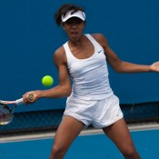 Destanee Aiava has ended her successful year on a high, winning the Optus 14s 2012 Australian Champioship after defeating players beyond her years.