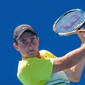 Following a successful run in the Optus 18s event where he reached the semi-final round, Bradley Mousley dominated the Optus 16s to secure the championship.