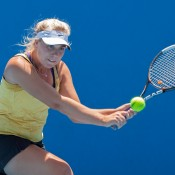 Abbie Myers did her tennis family proud, clinching the Optus 18s Championship in straight sets 6-4 6-3.
