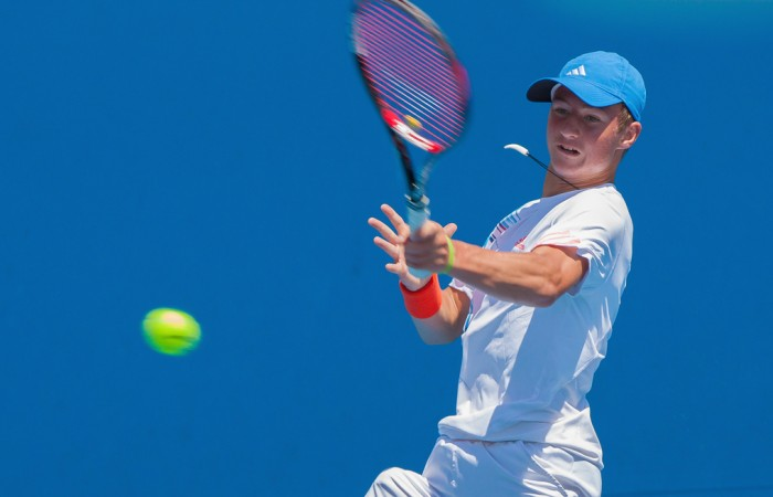 Omar Jasika's commendable play saw him through to the quarterfinals of the Optus 18s Championship.