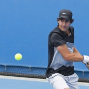 Entering the tournament with a reassuring position as top seed, Thanasi Kokkinakis steamed ahead into the final showdown of the Optus 18s singles against Nick Kyrgios.