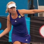 Abbie Myers, Optus 18s Australian Championships, Melbourne Park, 2012. MAE DUMRIGUE