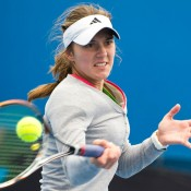 Azra Hadzic, Optus 18s Australian Championships, December Showdown, 2012, Melbourne Park. XUE BAI