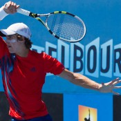 Ben Mitchell, Australian Open 2013 Play-off, December Showdown, Melbourne Park. JASON LOCKETT