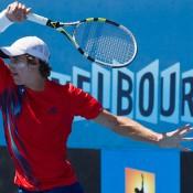 Ben Mitchell, Australian Open 2013 Play-off, December Showdown, Melbourne Park. JASON LOCKETT