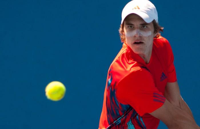 Benjamin Mitchell, Australian Open 2013 Play-off, December Showdown, Melbourne Park, 2012. MAE DUMRIGUE