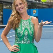 30 November 2012. Olivia Rogowska is in preparation for Monday's Newcombe Medal Australian Tennis Awards. Xue Bai.