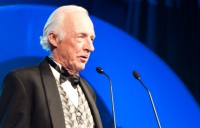 Ian Barclay, Newcombe Medal 2012. BEK JOHNSON