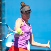 Bojana Bobusic had an excellent run during the Australian Open 2013 Playoff, having disposed of Ashleigh Barty's chances of achieving the wildcard into the Open for the second year in a row, and followed through to clinch the title herself.