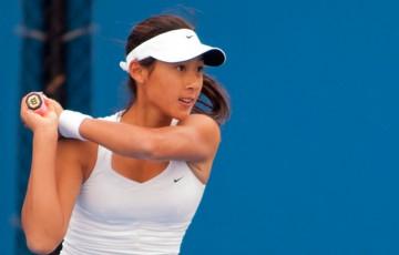 Priscilla Hon, Optus 18s Australian Championships, December Showdown, Melbourne Park, 2012. MAE DUMRIGUE
