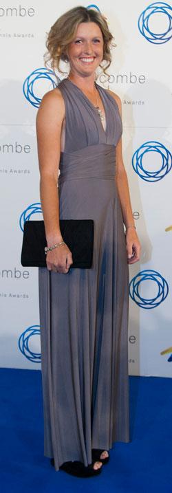 Storm Sanders, Newcombe Medal 2012. MAE DUMRIGUE