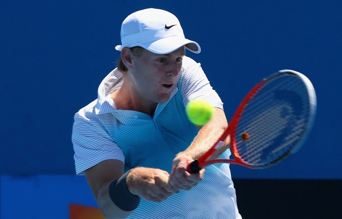 Luke Saville reached the quarterfinals of the Hutchison Builders Toowoomba International Pro Tour event in 2012 as a young wildcard; Getty Images