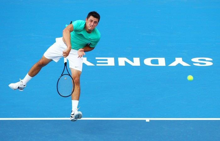 Tomic Downs Matosevic In Sydney 8 January 2013 All News News
