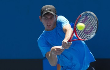 10 December 2012. 2013 Australian Open Playoff.  Jason lockett