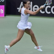 Jarmila Gajdosova; Martin Sidorjak, Tennis Arena