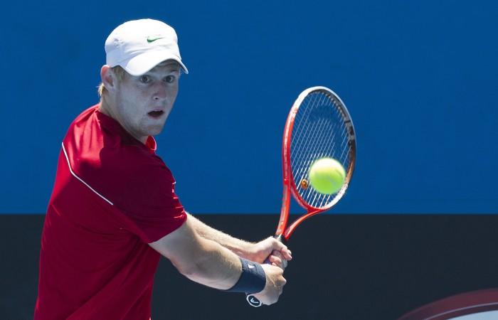10 December 2012. 2013 Australian Open Playoff.  Jason lockett