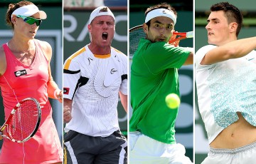 (L-R) Sam Stosur, Lleyton Hewitt, Marinko Matosevic and Bernard Tomic have been granted direct acceptance into the US Open; Getty Images
