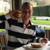 Sam Stosur, like Casey Dellacqua, enjoys some Vegemite with breakfast during her stay in Chiasso, Switzerland; Tennis Australia