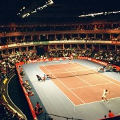For many years now, the ATP Champions Tour has staged an event at London's stunning Royal Albert Hall, normally a concert hall hosting musical, opera and ballet performances; Allsport