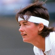 Seen here competing at the Colonial Mutual Classic Final held at Kooyong in December 1992, Liz Smylie gave birth to her first daughter Laura in April that year. She told wtatennis.com: