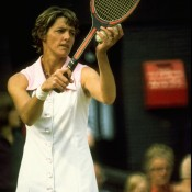 Having given birth to her first son Daniel in early 1972, Margaret Court incredibly came back later that year and then dominated the women's game in 1973, sweeping the Australian, French and US titles. Court switched between playing and taking time off as she had another two children, and retired permanently in 1977 when she learned she was pregnant with her fourth child; Tony Duffy/Allsport