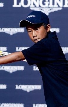Rinky Hijikata will represent Australia at the Longines Future Tennis Aces tournament during the French Open in Paris; Longines