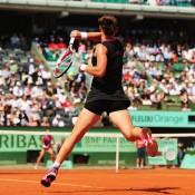 Sam Stosur, Roland Garros 2012, Paris. GETTY IMAGES