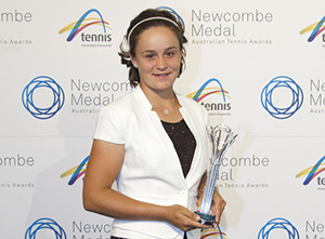 Ashleigh Barty, Junior Athlete of the Year (Female), 2012