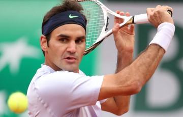 Roger Federer; Getty Images