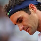 Roger Federer, Roland Garros, 2013, Paris. GETTY IMAGES