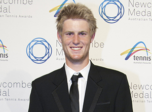 Luke Saville, Junior Athlete of the Year (Male), 2012