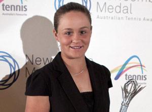 Ashleigh Barty, Junior Athlete of the Year (Female), 2011