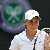 Ash Barty, Wimbledon, London, 2013. GETTY IMAGES