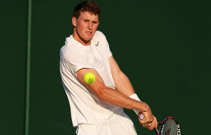 Harry Bourchier, Wimbledon, London, 2013. GETTY IMAGES