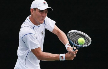 Matthew Ebden in action at the BB&T Atlanta Open; Getty Images