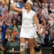 Ranked 262nd in the world 12 months ago, Kirsten Flipkens' ranking was so low that she couldn't even contest Wimbledon qualifying. Arriving at the All England Club in 2013 she was ranked 20th - an amazing achievement in itself - but still had never been beyond the fouth round at a major. That all changed at Wimbledon, when she reached the quarters and then stunned 2011 champion Petra Kvitova on Centre Court. Marion Bartoli ended her run in straight sets in the semifinals; Getty Images