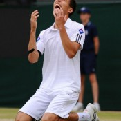 Pole Jerzy Janowicz has been the breakout story of the 2013 men's event at Wimbledon, using his booming serve and forehand to power his way into the semifinals. Like Nalbandian, he'd never previously progressed beyond round three at a major; Getty Images