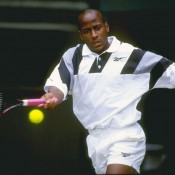 American MaliVai Washington had only once reached the quarterfinals at a major (Australian Open 1994), but at Wimbledon in 1996, he threw the form-guide out of the window and made it all the way to the final, as an unseeded player no less. He survived a tense semifinal against 13th-seeded compatriot Todd Martin (winning 10-8 in the fifth) before falling to Richard Krajicek in the final; Getty Images