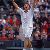 He was a qualifier ranked No.237. He'd never before progressed beyond the second round of a major, and would never subsequently. But at Wimbledon 2000, everything fell into place for Belarus's Vladimir Voltchkov. Reportedly inspired by the film