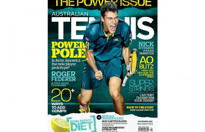 The cover of the September