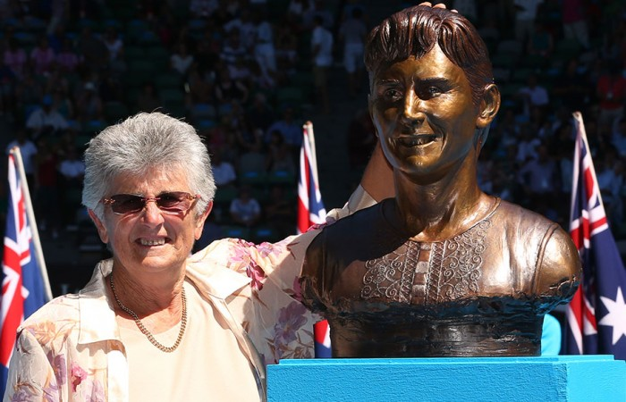 Judy Dalton, Australian Open, 2013. GETTY IMAGES