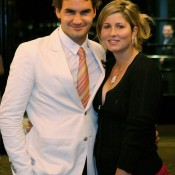 Roger and Mirka Federer met back at the Sydney 2000 Olympics, when both were competing in tennis for Switzerland. Then known as Miroslava Vavrinec, she began dating Federer, and the pair were married in April 2009. Mirka gave birth to their identical twin daughters Charlene Riva and Myla Rose later that year; Getty Images