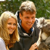 Another Czech couple, Lucie Safarova and Tomas Berdych, dated for nine years before separating in mid 2011; Getty Images