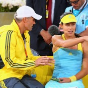 Ana Ivanovic has worked with several coaches, and her latest partnership - with Brit Nigel Sears - ended in July after two years. The Serb said she needed a radical change and fresh voice, but was in no rush to seek out a new full-time coach; Getty Images